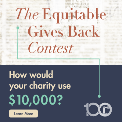 The Equitable Gives Back Contest – Start spreading the word!
